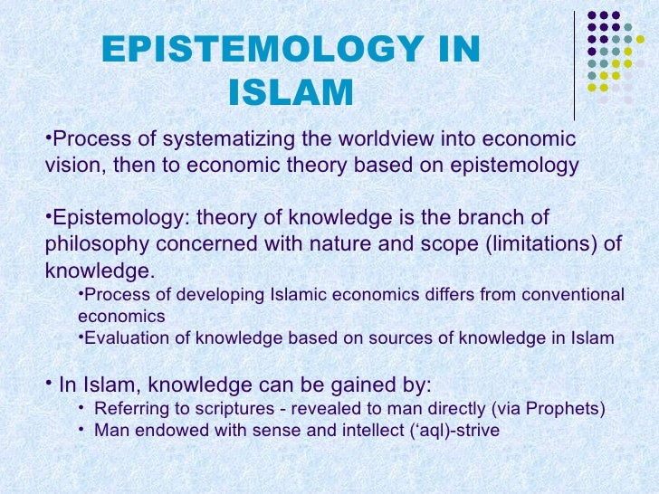nature and scope of islamic economics