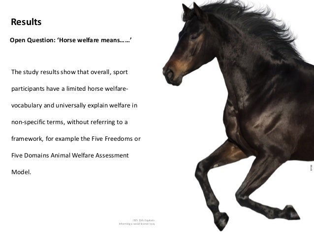 ISES 15th Equitation Science Conference Informing a social licence to operate communication framework Open Question: 'Hors...