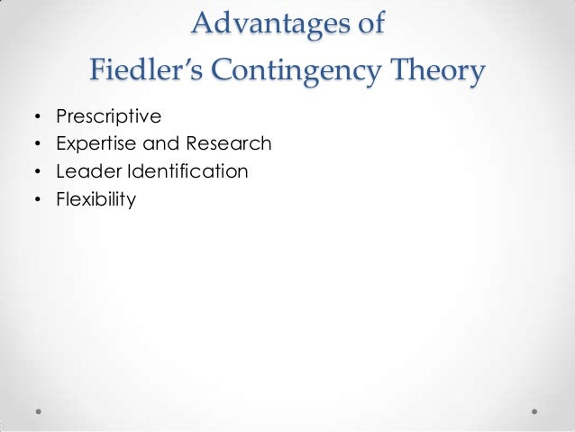 strengths and weakness of contingency theory According to lmx theory,  leadership-member exchange (lmx) theory  strengths of lmx theory.
