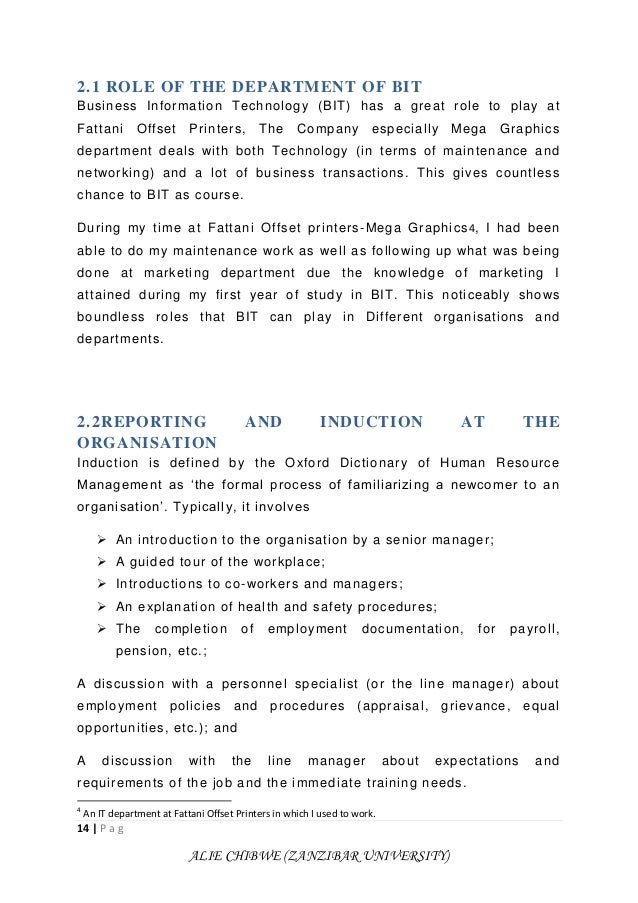 it attachment report Free essay: report on field attachement at amolatar district local government by ayen moris okucu beas/31524/102/du academic supervisor signature.