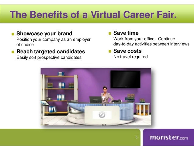 Monster Virtual Career Fair 2013