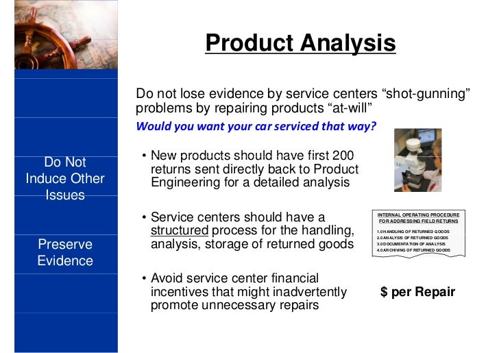 product analysis report