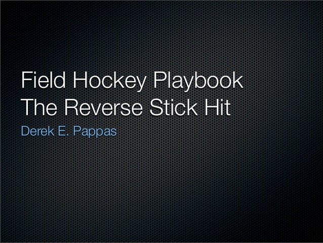 how to play forward in field hockey