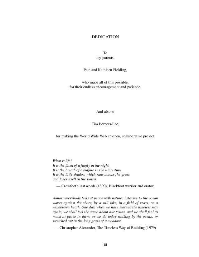 fielding dissertation epub