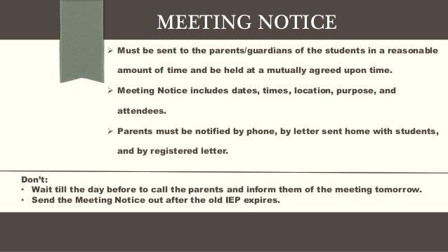 Sample notice of meeting milkshakes entire sample notice of meeting spiritdancerdesigns Choice Image