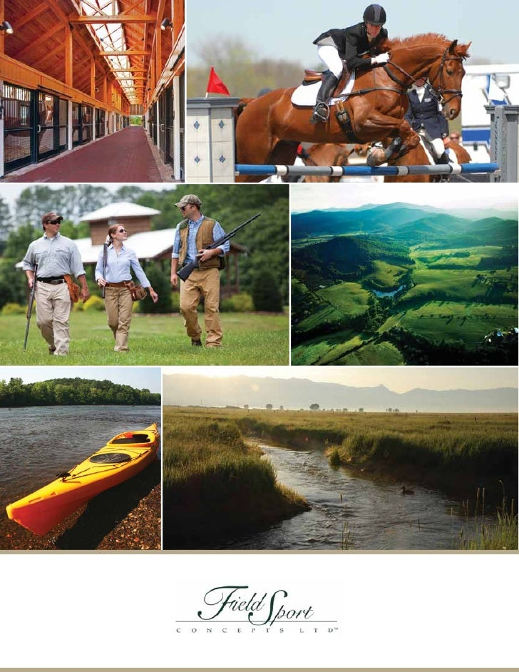 INNOVATIVE SOLUTIONS FOR                  THE PRESERVATION OF RURAL LAND   Founded in 1993, Field Sport Concepts, Ltd. (ww...