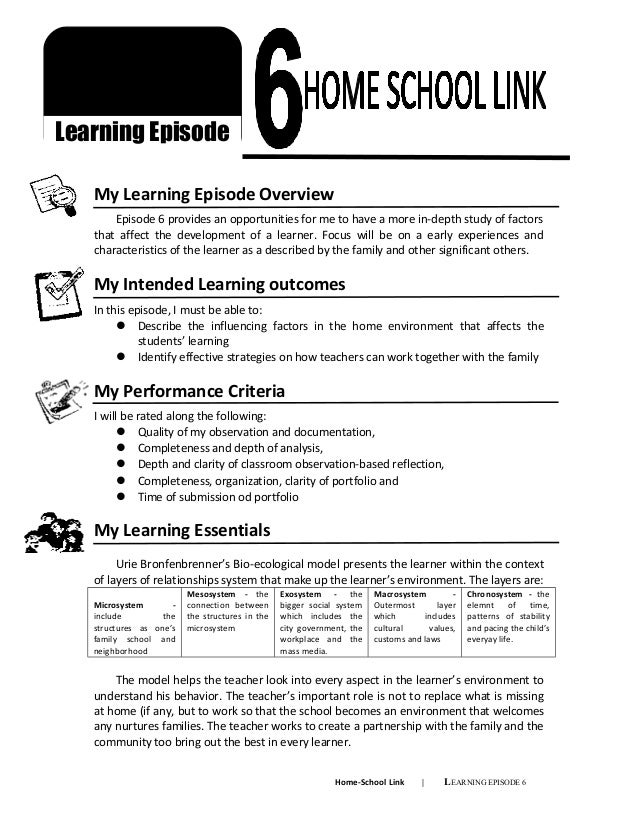 learners development profile for field study The characteristics and concerns of adult basic  ncsall's professional development study and its  members of the field, and learners who are learning.