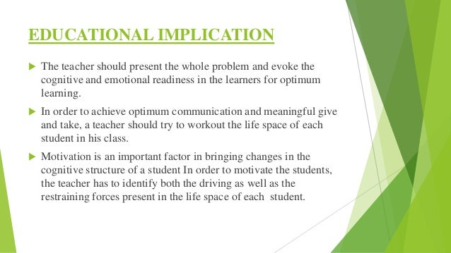  Teacher should organize his instructional strategies in a manner which will be at the level of 'exploratory' rather than...