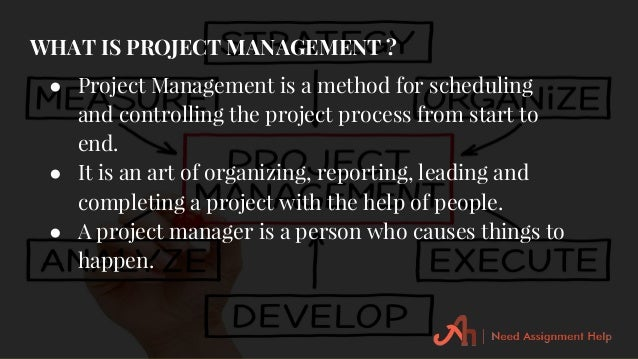 project management assignment help Our experts provides assistance with the wide variety of project management assignment help it include both high school and advanced university degree students.