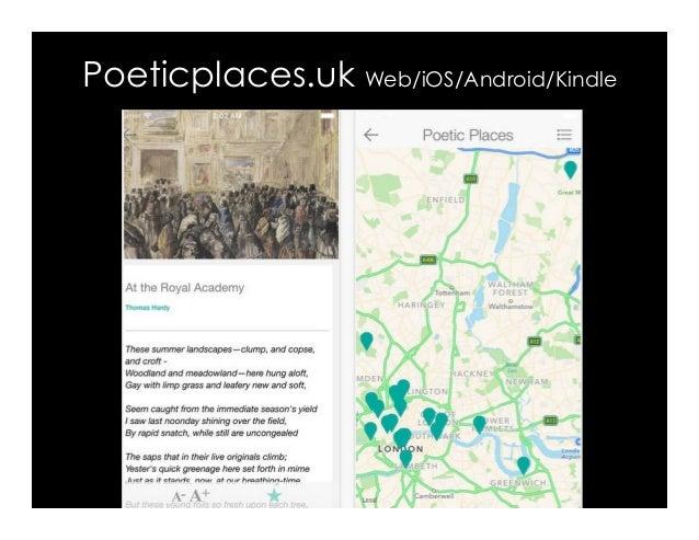 Poeticplaces.uk Web/iOS/Android/Kindle