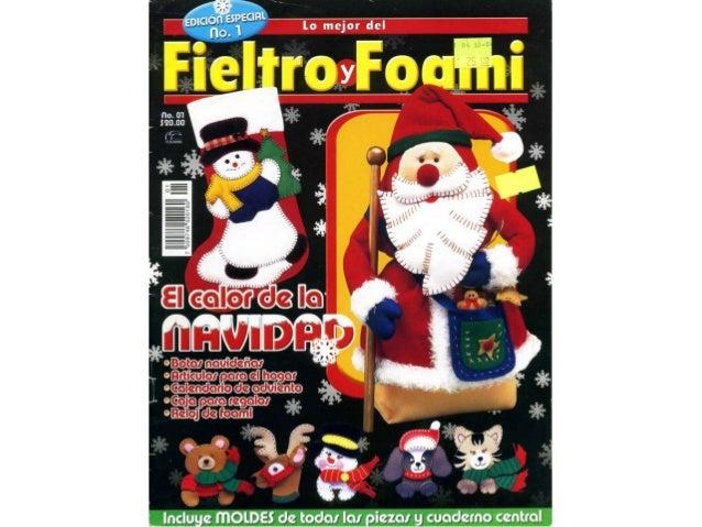 Fieltro y foami edicion especial nº 01 calor de navidad.1