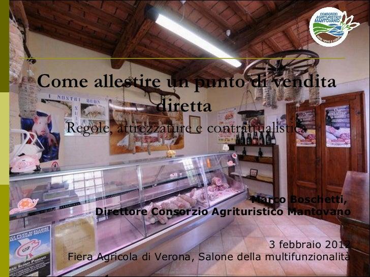 Marco Boschetti,  Direttore Consorzio Agrituristico Mantovano 3 febbraio 2012 Fiera Agricola di Verona, Salone della mul...