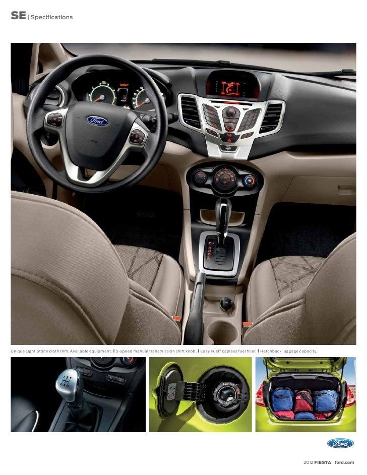 2013 Ford Fiesta Specs
