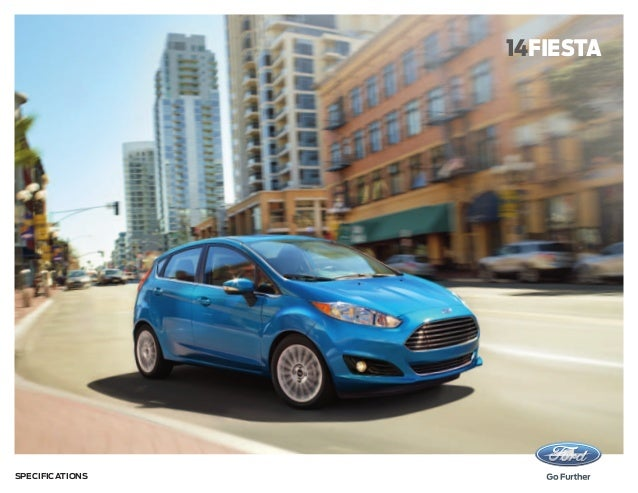 14fiesta  Specifications