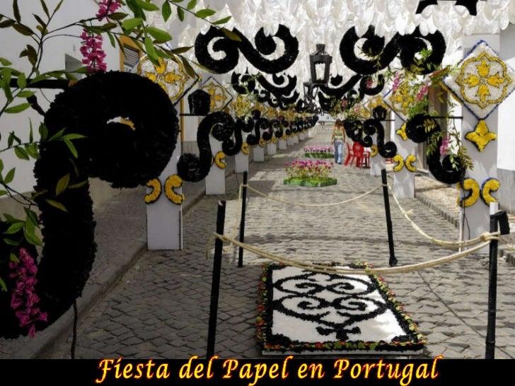 Fiesta del Papel en Portugal