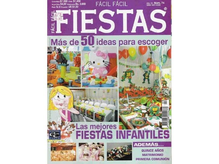 Fiesta facil facil ano13 no74 plus de 50 idées pour décorer les meilleures fêtes des enfants1