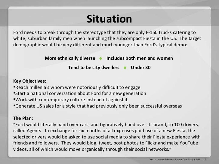 ford fiesta case study pdf