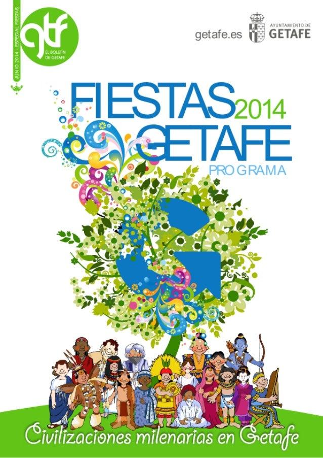 Conciertos Fiestas de Getafe 2014