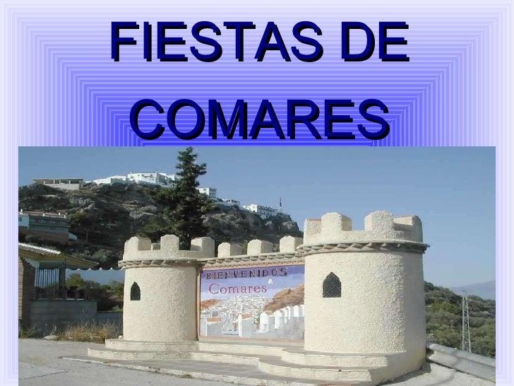 FIESTAS DE COMARES