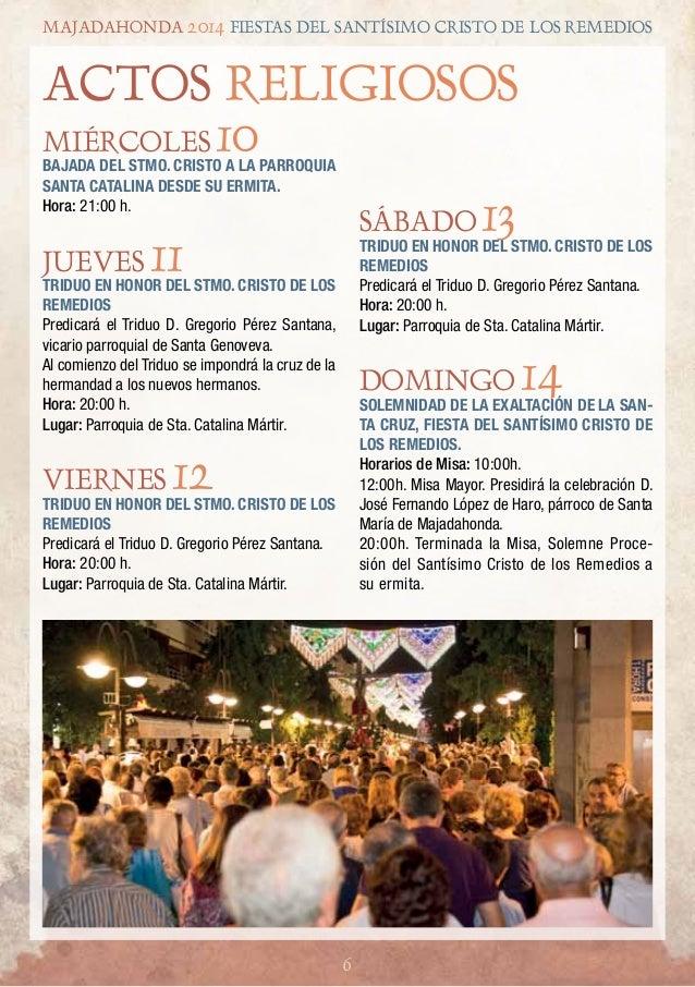 Programa completo fiestas de majadahonda 2014 - Barra 56 majadahonda ...