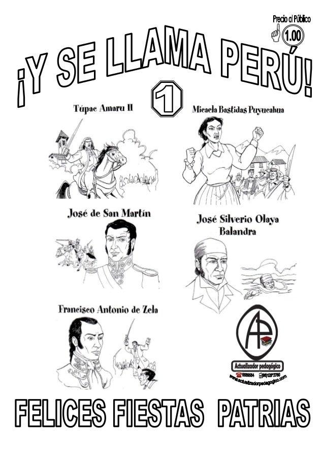 Fiestas Patrias Perú Imprimir