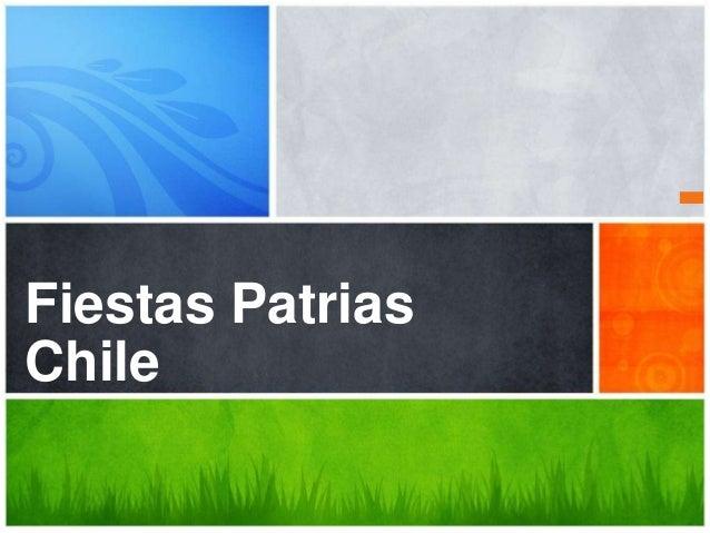 ¿Cuál es el mensaje Fiestas Patrias Chile