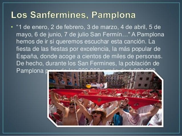 Fiestas populares de españa kevin bustamante Slide 2