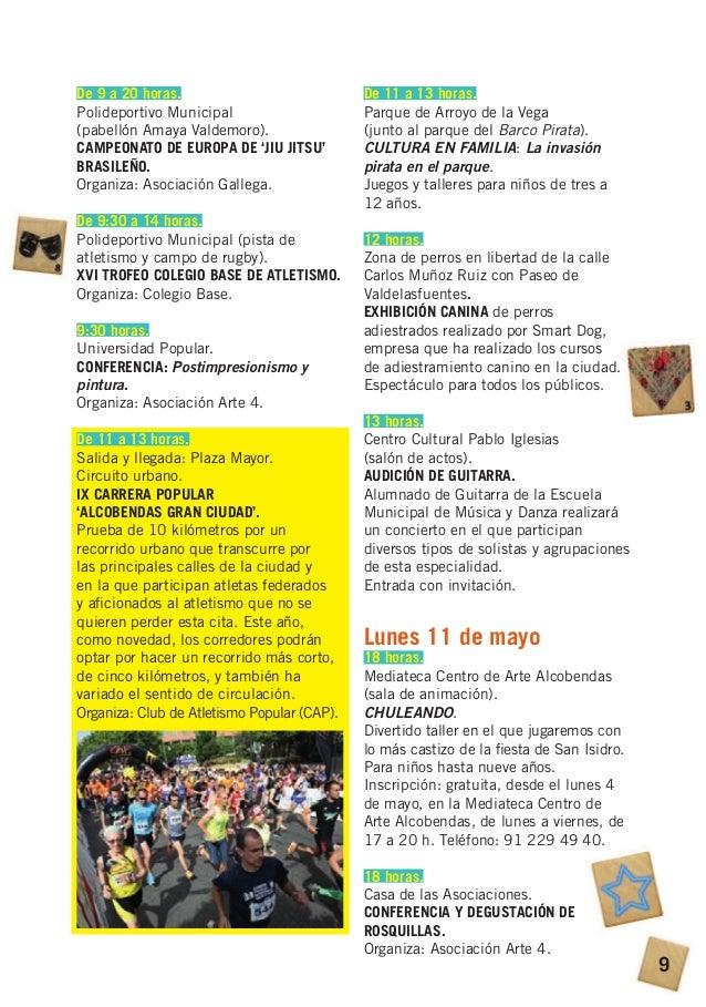 Fiestas san isidro alcobendas 2015
