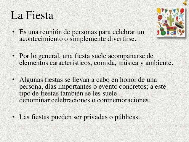 Fiesta y tradiciones 7° pp Slide 2