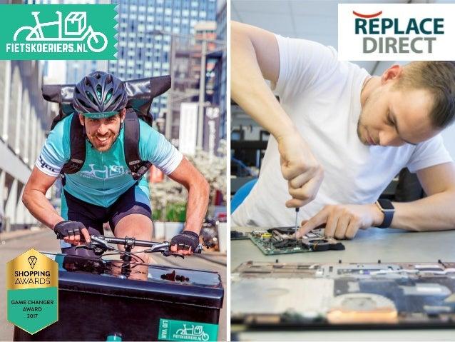 • De schoonste en snelste bezorgdienst van Nederland! • Een samenwerking met 18 fietskoerierspartners • Fietskoeriers.nl i...