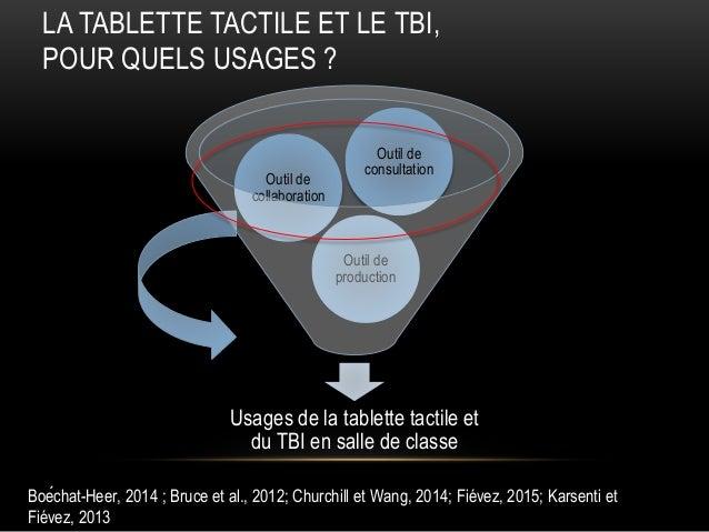 Vivre le français numérique au moyen du tableau blanc interactif (TBI) et de la tablette tactile Slide 3