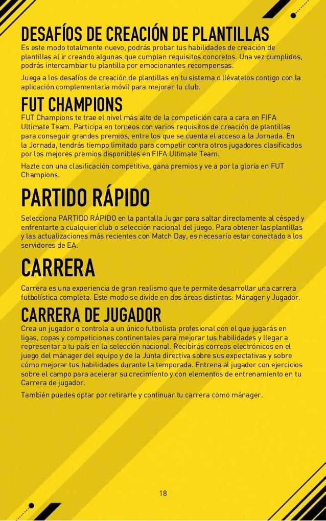 FIFA 17 Manual PS4
