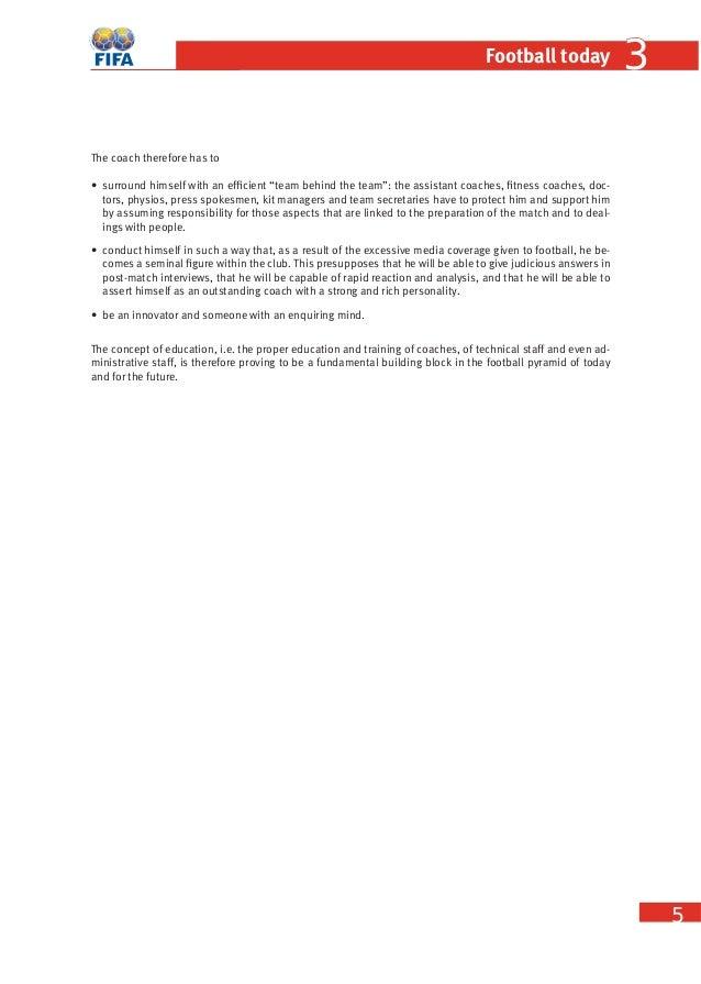fifa coaching manual rh slideshare net Participant Manual Template Participant- Centered