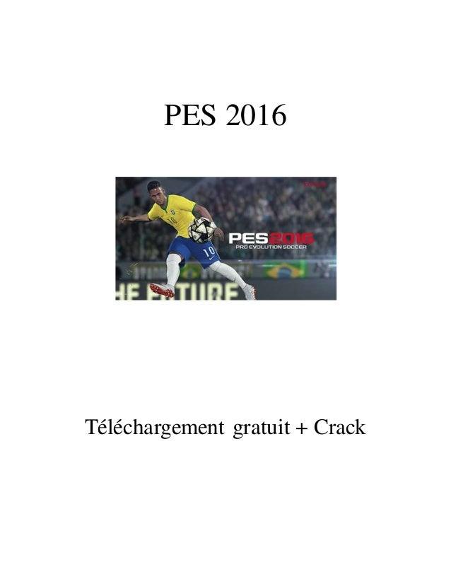 PES 2016 Téléchargement gratuit + Crack