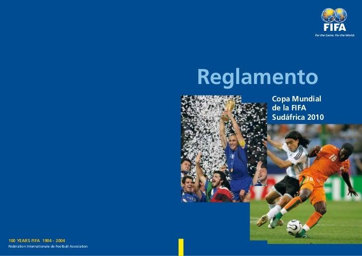 Reglamento                                                          Copa Mundial                                          ...