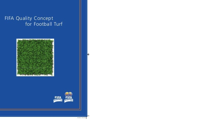 FIFA Quality Concept        for Football Turf