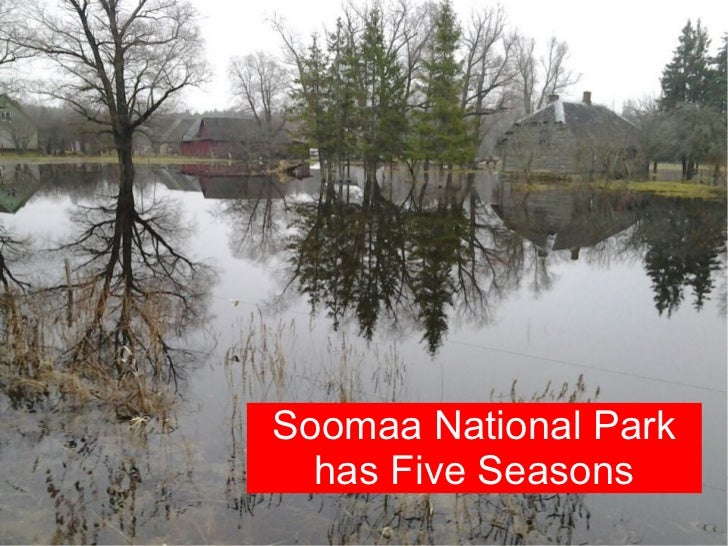Soomaa National Park  has Five Seasons
