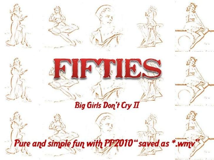 Fifties: Vintage Pin Ups