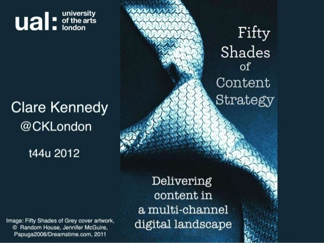 Fifty shades of content strategy