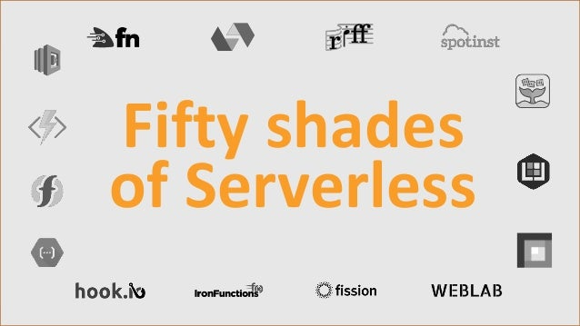 Copyright©SolidBeansAB Mattias Jiderhamn www.solidbeans.com Fifty shades of Serverless
