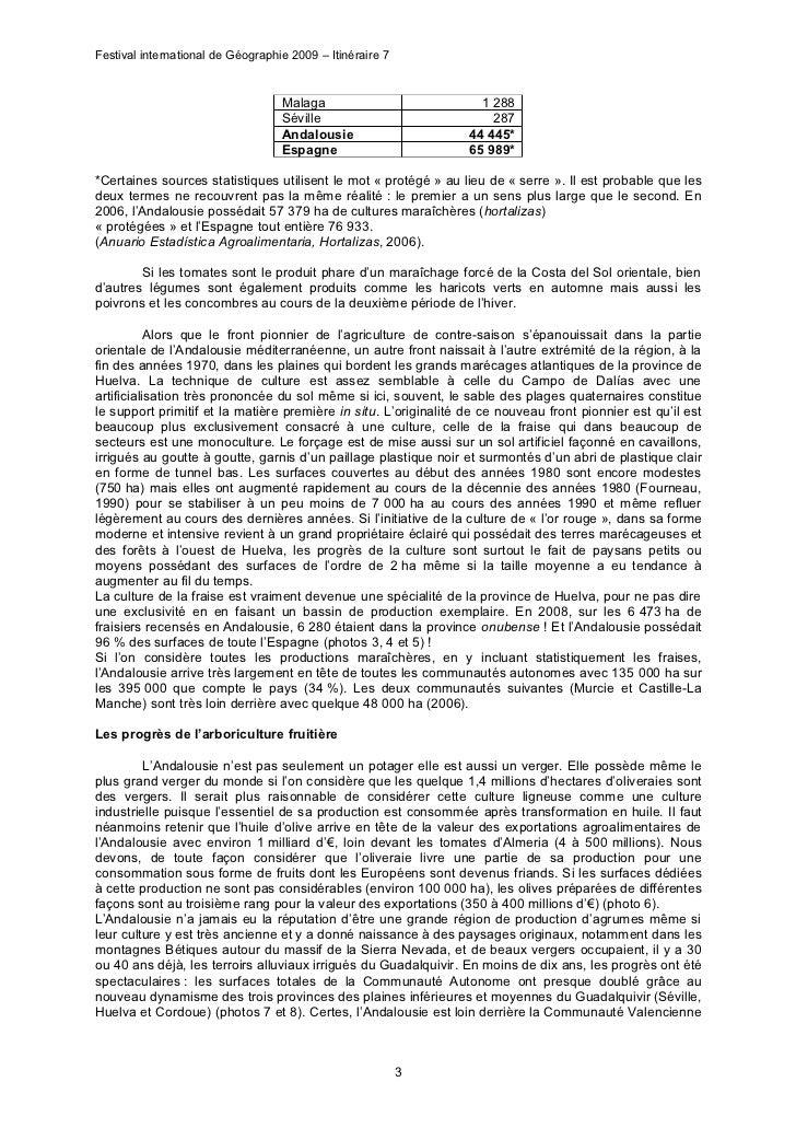FIG 2009 : article d'André HUMBERT Slide 3