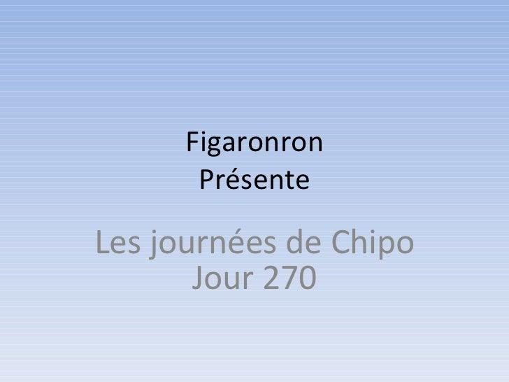 Figaronron Présente Les journées de Chipo Jour 270