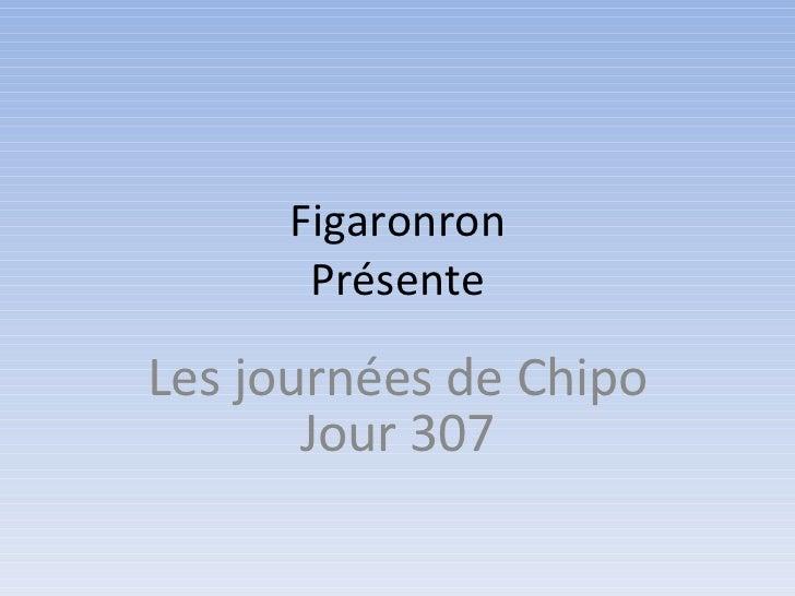 Figaronron Présente Les journées de Chipo Jour 307
