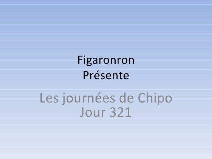 Figaronron      PrésenteLes journées de Chipo       Jour 321