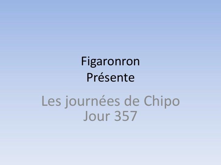 Figaronron       PrésenteLes journées de Chipo       Jour 357