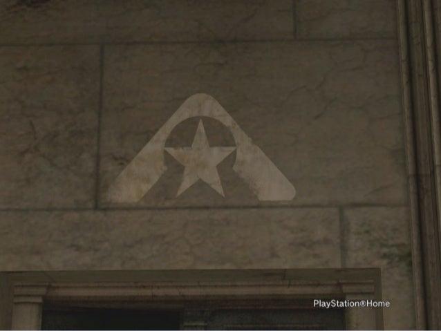 Figaronron - Playstation home - La gare resistance