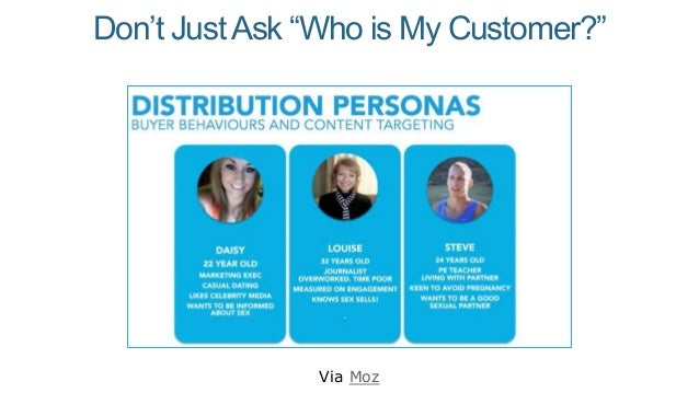 "Don't JustAsk ""Who is My Customer?"" Via Moz"