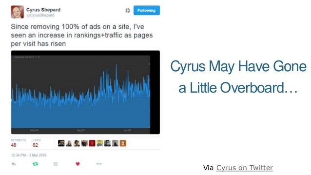 Cyrus May Have Gone a Little Overboard… Via Cyrus on Twitter