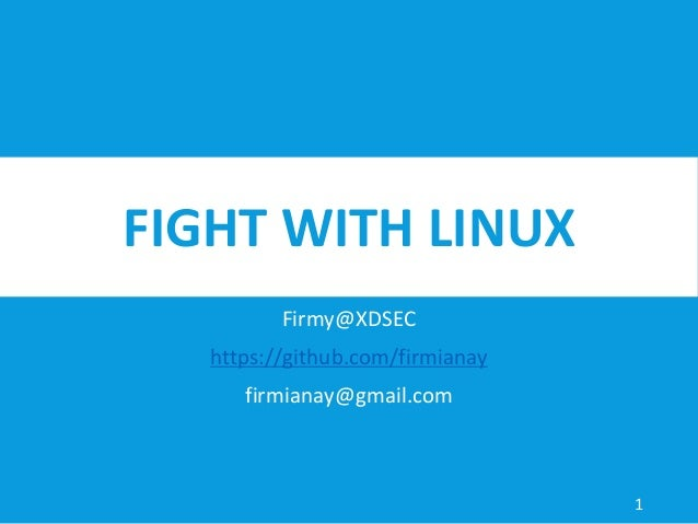 Fight with linux reverse