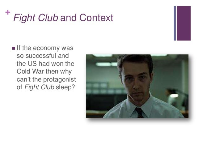 Fight club essays consumerism